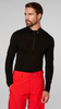 Helly Hansen Lifa Merino Seamless Half Zip Base Layer Top for Men, in black | 48319 in style, comfort and warmth