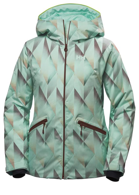 Helly Hansen Belle Women S Ski Jacket Glacier Mint Green