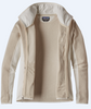Patagonia Better Sweater Jacket | Women's Performance  | 25970 in Bleached Stone, open to show the interior