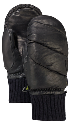 Burton Snowboard Mittens | Women's Premium Warmest Mitt shown in True Black