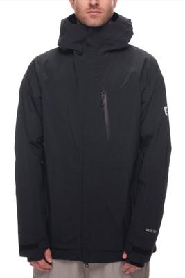 686 Snowboard Jacket | Men's GLCR Gore-Tex GT | L7W102 | Black | Front
