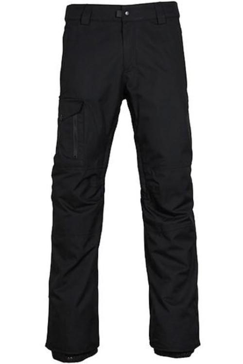 686 Snowboard Pants | Men's Rover | L7W211 | Black | Front