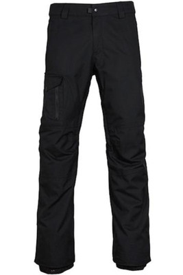 686 Snowboard Pants | Men's Rover | L7W211 | Black | Front