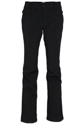 686 Snowboard Pants | Women's Women's Gossip Softshell | LW109 | Black | Front