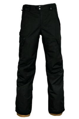 686 Snowboard Pants | Men's Smarty 3-in-1 Cargo | KCR210 | Black | Front