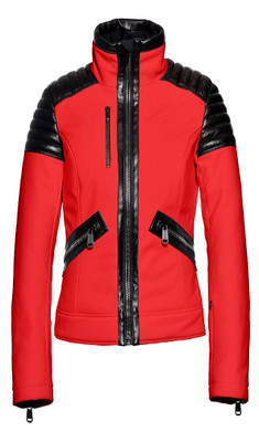 Goldbergh Ski Jacket | Women's Leonie Jacket in Red