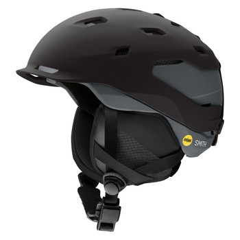 Smith Helmets | Men's Quantum Mips | H18QT18 | Color: Matte Black Charcoal