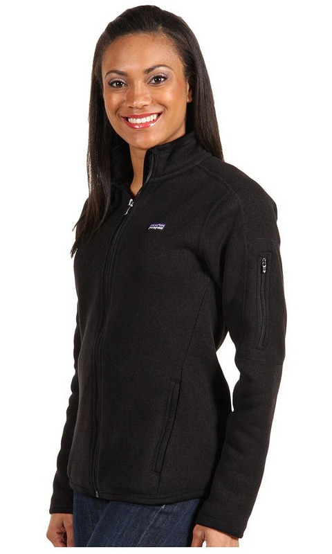 Patagonia Better Sweater Jacket | Women's | Black | styled