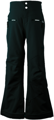 Obermeyer Ski Pants | Girl's Jolie Softshell shown in Black