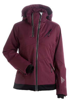 Nils Ski Jacket | Women's Belinda | 2117 in Merlot