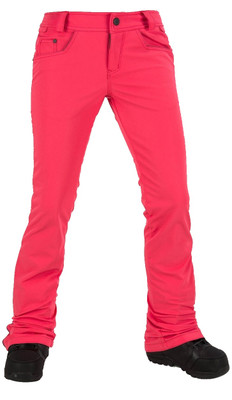 Volcom Ski Pants | Women's Battle Stretch | H1351806 in Bright Rose