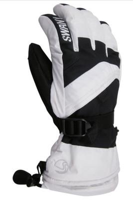 Swany X-Over Gloves | Junior | SX65J | White | Black