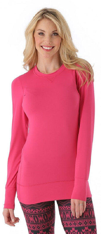 Snow Angel Base Layer | Women's Veluxe Ride Tunic | Hot Pink