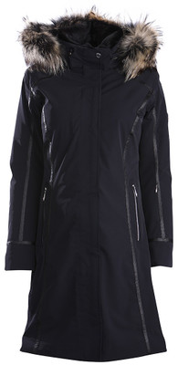 Descente Winter Coat | Womens Quebec | Fur Trimmed | D89761A