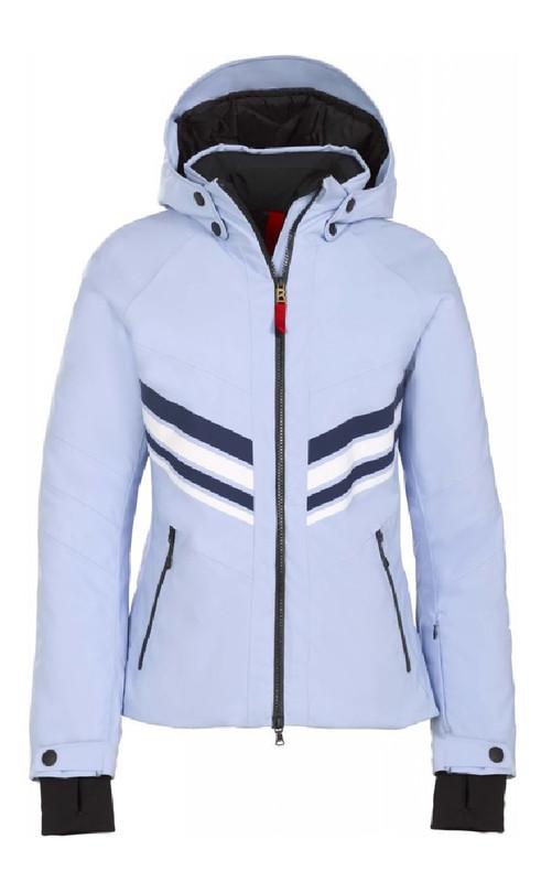 Fire + Ice Ski Jacket | Women's Macie  | 3471 in Glacier blue