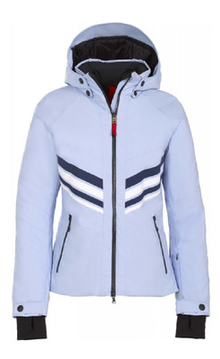 Fire + Ice Ski Jacket | Women's Macie  | 3471 in Glacier blue