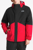 The North Face Boundary Triclimate Ski Jacket | Boy's | NF0A34Q3 | KZ3 | TNF Red | TNF Black | Front Styled