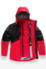 The North Face Boundary Triclimate Ski Jacket | Boy's | NF0A34Q3 | KZ3 | TNF Red | TNF Black | Front