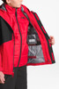 The North Face Boundary Triclimate Ski Jacket | Boy's | NF0A34Q3 | KZ3 | TNF Red | TNF Black | Inside Detail