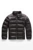 The North Face Andes Down Jacket | Boy's | NF00CHQ6 | KU6 | TNF Black | Graphite Grey | Front