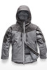 The North Face Chakal Insulated Ski Jacket | Boy's | NF0A3CPT | DYY | TNF Medium Grey Heather | Front