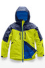 The North Face Chakal Insulated Ski Jacket | Boy's | NF0A3CPT | 6X0 | Lime Green | Front