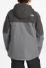 The North Face Chakal Insulated Ski Jacket | Boy's | NF0A3CPT | DYY | TNF Medium Grey Heather | Back