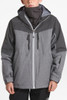 The North Face Chakal Insulated Ski Jacket | Boy's | NF0A3CPT | DYY | TNF Medium Grey Heather | Front Styled
