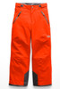 The North Face Freedom Insulated Ski Pant | Boy's | NF0A34RE | V0T | Power Orange | Front