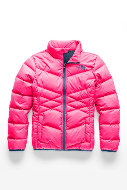 The North Face Down Jacket | Girl's | NF0A34V2 | 4CK | Atomic Pink | Front
