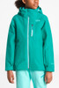 The North Face Fresh Tracks Gore-Tex Triclimate Ski Jacket | Girl's | NF0A34WM | EY3 | Kokomo Green | Front Styled