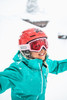 The North Face Fresh Tracks Gore-Tex Triclimate Ski Jacket | Girl's | NF0A34WM | EY3 | Kokomo Green | Skiing