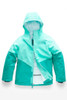 The North Face Brianna Insulated Ski Jacket | Girl's | NF0A3CV3 | N2P | Mint Blue | Front