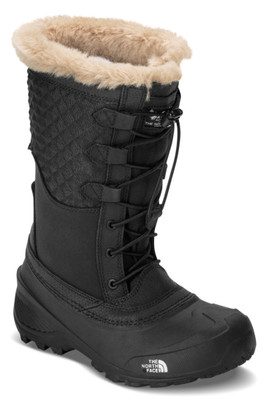 The North Face Shellista Lace III Boot | Girl's | NF0A2YAX | KX7 | TNF Black | Front