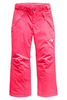The North Face Freedom Insulated Ski Pant | Girl's | NF0A34V1 | 4CK | Atomic Pink | Front