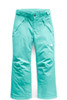 The North Face Freedom Insulated Ski Pant | Girl's | NF0A34V1 | N2P | Mint Blue| Front
