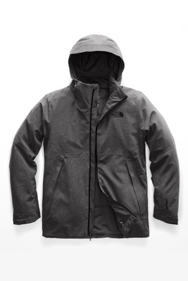 The North Face Apex Flex GTX Thermal Ski Jacket | Men's | NF0A3ERL | DYZ |TNF Dark Grey Heather |Front
