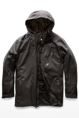 The North Face Descendit Ski Jacket | Men's | NF0A3LVE | DYZ | TNF Dark Grey Heather | Front