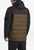 The North Face Gatebreak Down Jacket | Men's | NF0A3332 | 1UV | Beech Green | TNF Black | Back