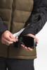The North Face Gatebreak Down Jacket | Men's | NF0A3332 | 1UV | Beech Green | TNF Black | Goggle Cloth