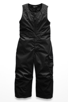 The North Face Toddler Insulated Bib | NF0A3CVY | JK3 | TNF Black | Front