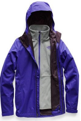 The North Face Arrowood Triclimate Ski Jacket | Women's | NF00CUS2 | 7QJ | Deep Blue Dobby | Front