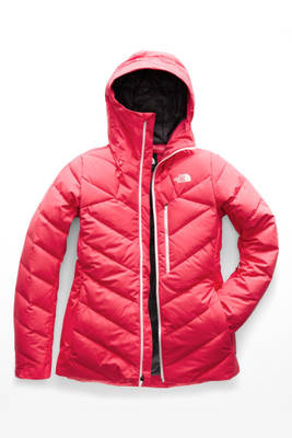 The North Face Corefire Down Ski Jacket | Women's | NF0A3KQD | VC6 | Teaberry Pink | Front