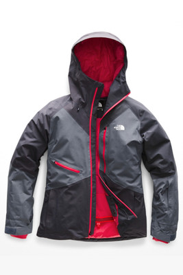 The North Face Lostrail Ski Jacket | Women's | NF0A3KQC | 6GS | Periscope Grey | Grisaille Grey | Front
