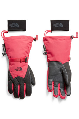 The North Face Montana Gore-Tex Glove | Women's | NF0A334C | 8NH | Teaberry Pink | TNF Dark Grey Heather