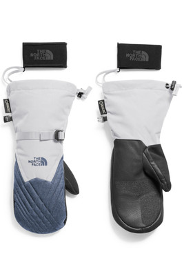 The North Face Montana Gore-Tex Mitt | Women's | NF0A334D | 8NJ | TNF White | Grisaille Grey Heather