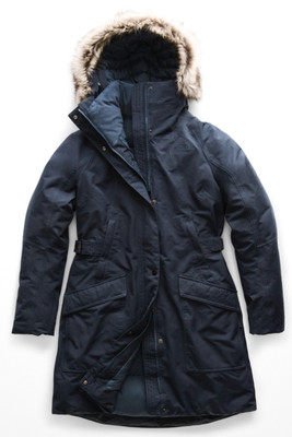 The North Face Outer Boroughs Down Parka | Women's | NF0A35BP | H2G | Urban Navy | Front