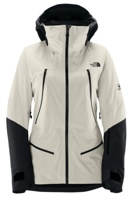 The North Face Purist Ski Jacket   Women's   NF0A3KQ4   TP6   Vaporous Grey   TNF Black   Front