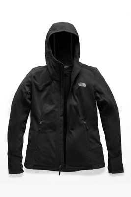The North Face Shastina Stretch Hoodie | Women's | NF0A3ETE | KX7 | TNF Black | Front