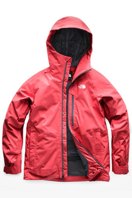 The North Face Sickline Ski Jacket | Women's | NF0A3LUH | VC6 | Teaberry Pink | Front